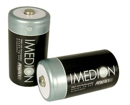 Imedion 9,500 mAH D Rechargeable Batteries